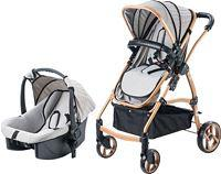 Baby Care BC312 Bambi Trio Gold-Bej Puset