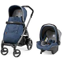 Peg Perego Book Completo Jet Travel Sistem Bebek Arabası Denim